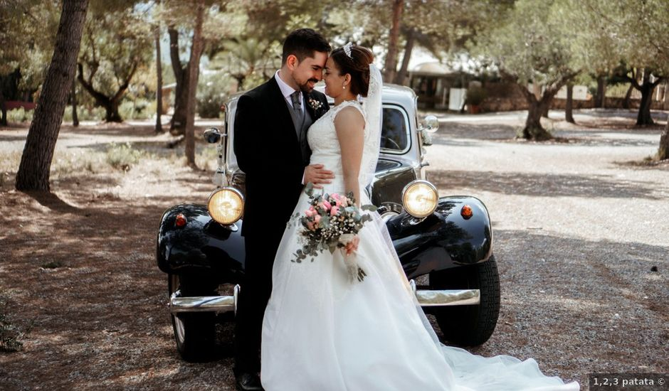 La boda de Esther y Miguel en Albalat Dels Tarongers, Valencia