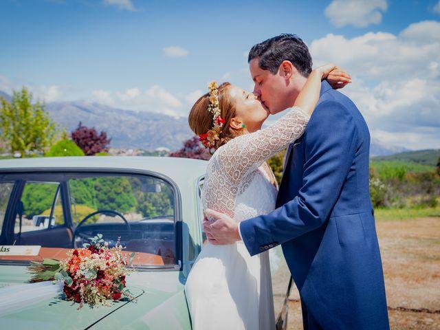 La boda de Sergio y Loreto en Collado Villalba, Madrid 51