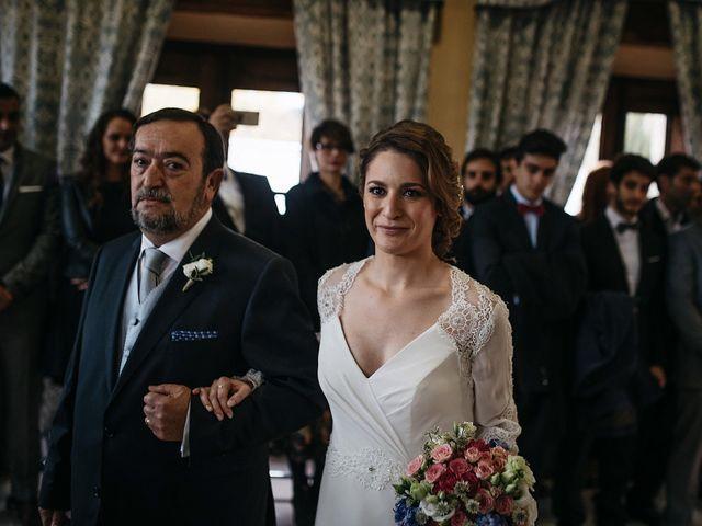 La boda de Iñaki y Blanca en Sotos De Sepulveda, Segovia 20