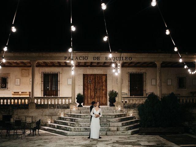 La boda de Iñaki y Blanca en Sotos De Sepulveda, Segovia 54