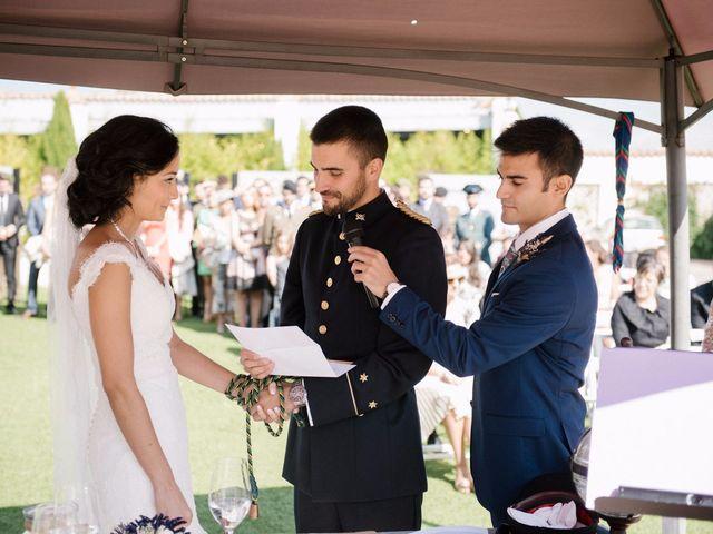 La boda de Cesar y Val en Galapagos, Guadalajara 56