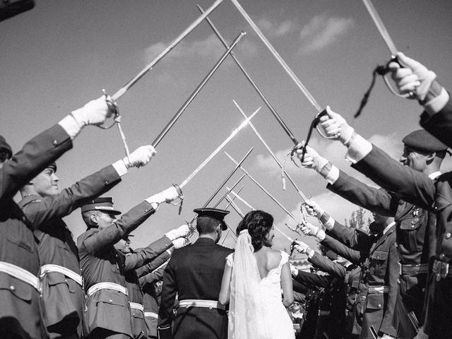 La boda de Cesar y Val en Galapagos, Guadalajara 61