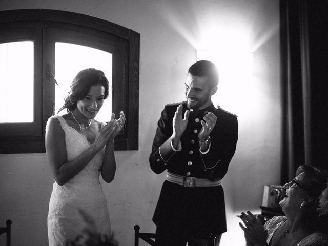 La boda de Cesar y Val en Galapagos, Guadalajara 87