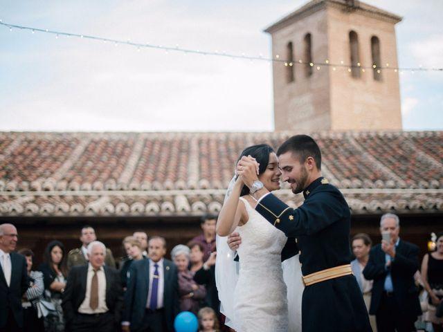 La boda de Cesar y Val en Galapagos, Guadalajara 93
