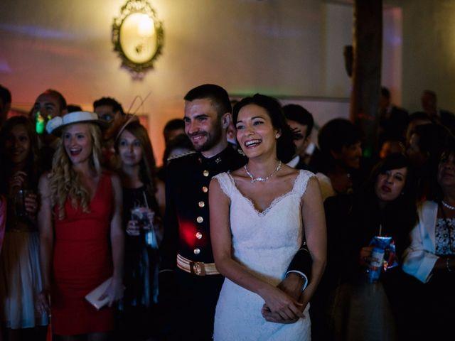 La boda de Cesar y Val en Galapagos, Guadalajara 94