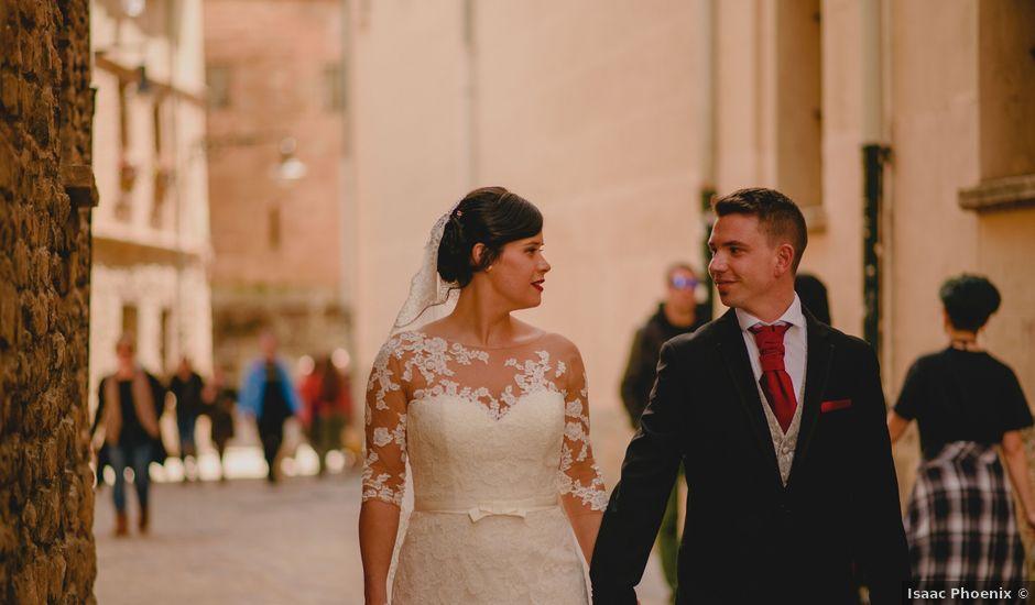 La boda de Iñaki y Arantxa en Pamplona, Navarra