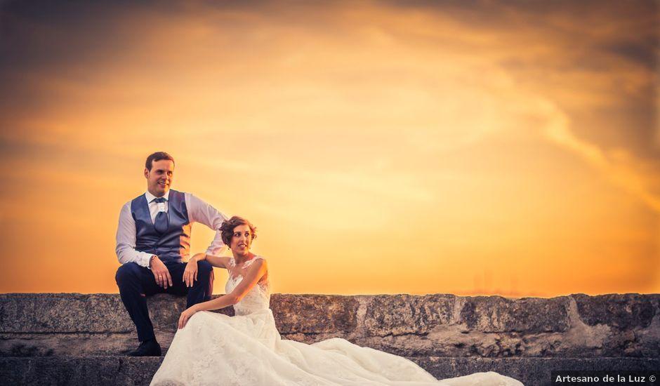 La boda de Ion y Cristina en Ciudad Rodrigo, Salamanca
