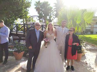 La boda de Erik y Melodi