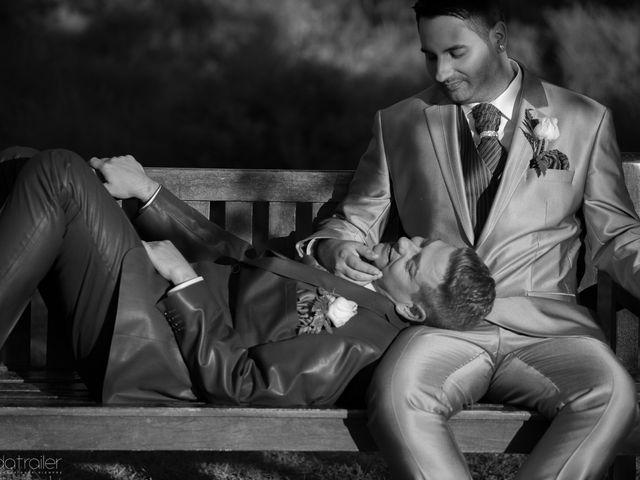 La boda de Cristian y Daniel
