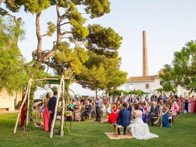 La boda de Adri y Isa en Sagunt/sagunto, Valencia 34