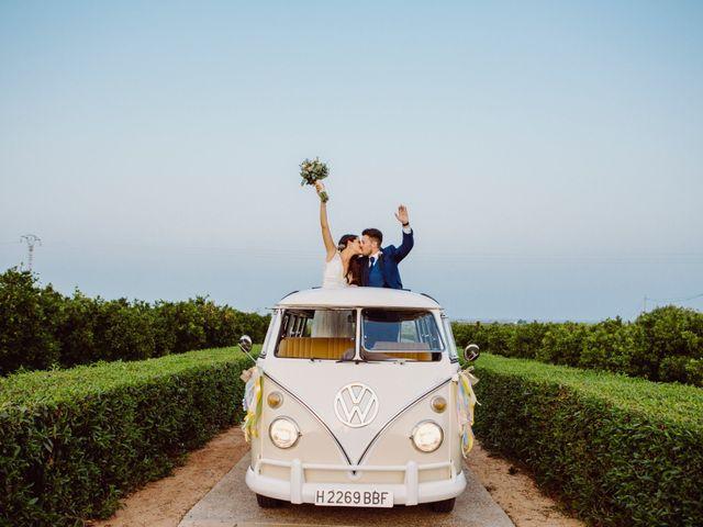 La boda de Adri y Isa en Sagunt/sagunto, Valencia 37