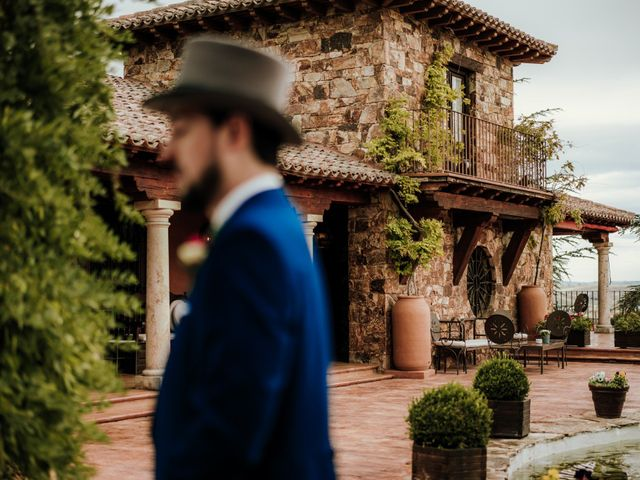 La boda de Javier y Alexandra en San Agustin De Guadalix, Madrid 14
