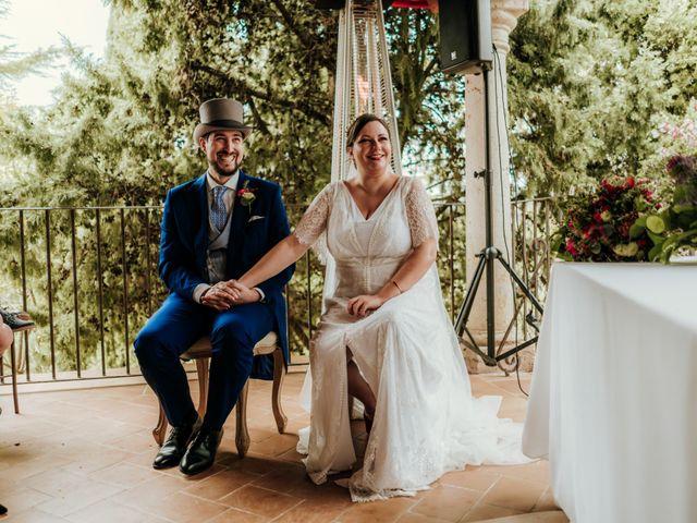 La boda de Javier y Alexandra en San Agustin De Guadalix, Madrid 34