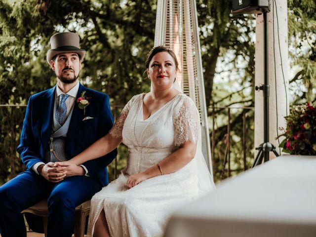 La boda de Javier y Alexandra en San Agustin De Guadalix, Madrid 35