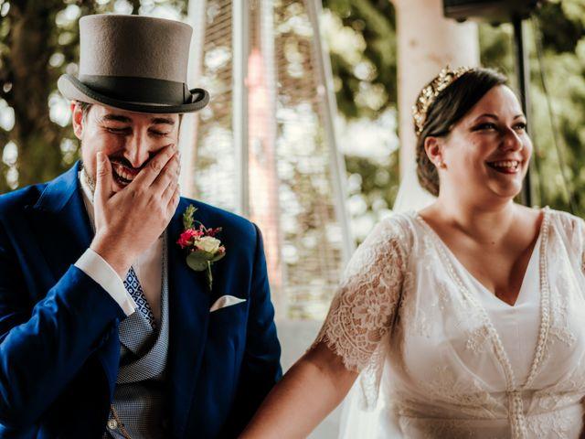 La boda de Javier y Alexandra en San Agustin De Guadalix, Madrid 37