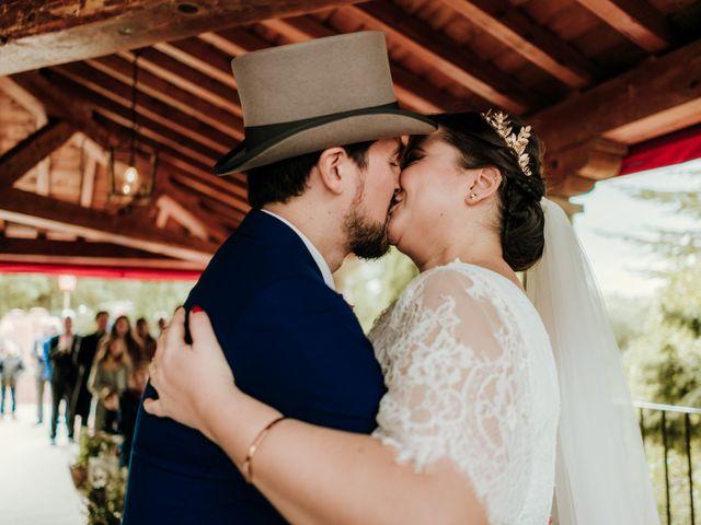 La boda de Javier y Alexandra en San Agustin De Guadalix, Madrid 40