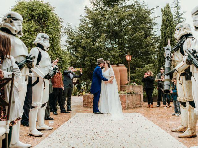 La boda de Javier y Alexandra en San Agustin De Guadalix, Madrid 42