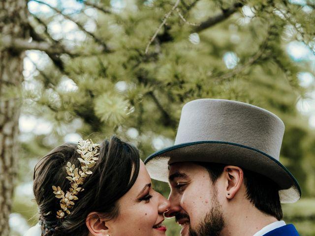 La boda de Javier y Alexandra en San Agustin De Guadalix, Madrid 1