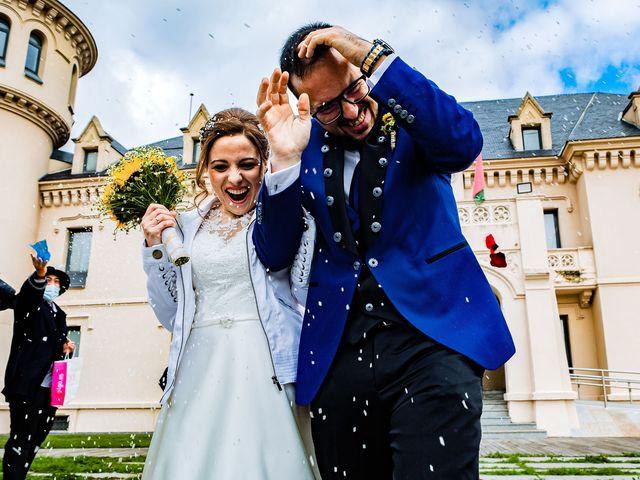 La boda de Jose y Alba en Navalcarnero, Madrid 54