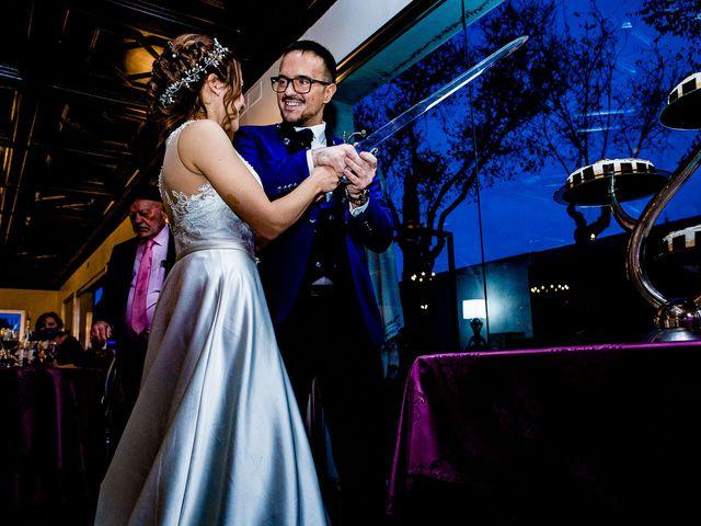 La boda de Jose y Alba en Navalcarnero, Madrid 69