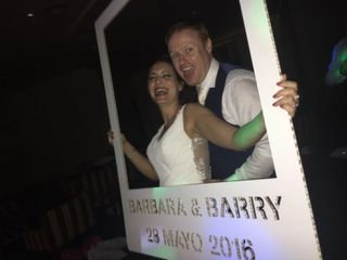 La boda de Barbara y Barry
