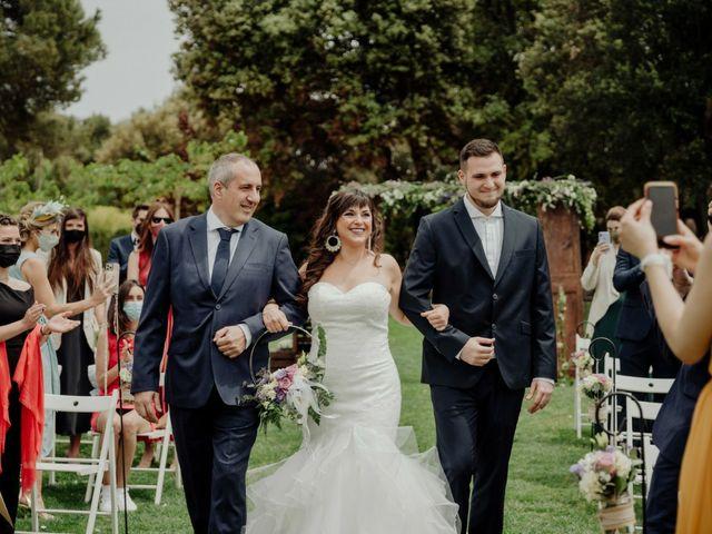 La boda de Eric Mas Ruiz y Silvia Muñoz Hita  en Sallent, Barcelona 2