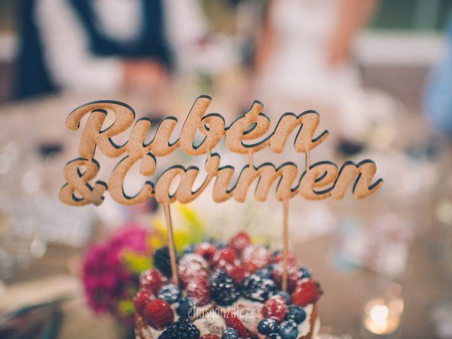 La boda de Rubén  y Carmen en Guadarrama, Madrid 4