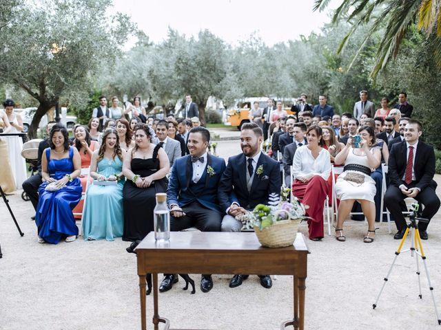 La boda de Jon y Ángel en Alberic, Valencia 36