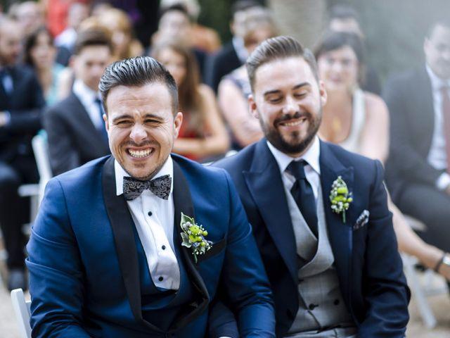 La boda de Jon y Ángel en Alberic, Valencia 41
