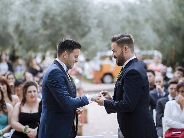 La boda de Jon y Ángel en Alberic, Valencia 43