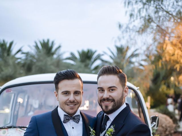 La boda de Jon y Ángel en Alberic, Valencia 50