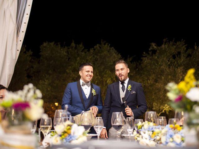 La boda de Jon y Ángel en Alberic, Valencia 56