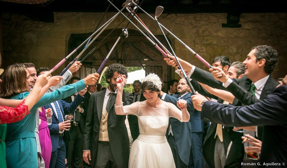 La boda de Alonso y Ana en Quijas, Cantabria