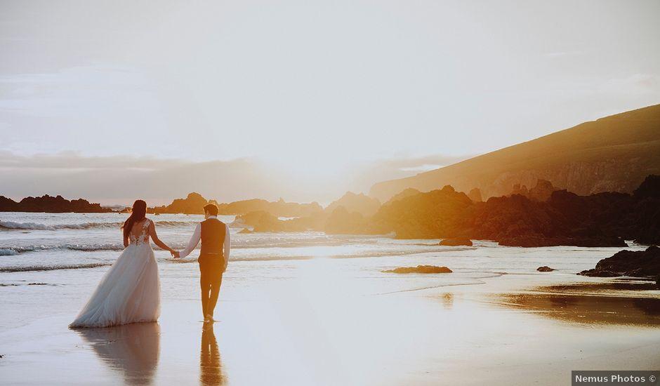 La boda de Dani y Nuria en Oleiros, A Coruña