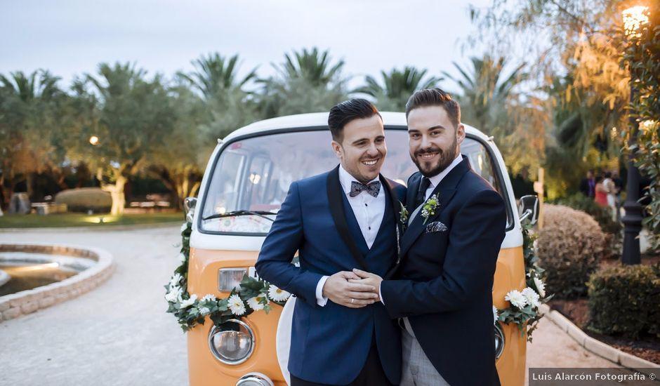 La boda de Jon y Ángel en Alberic, Valencia