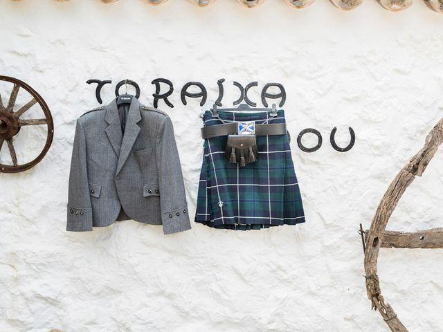 La boda de Lewis y Nikki en Sant Lluís, Islas Baleares 4