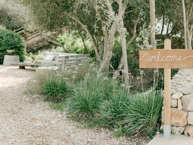 La boda de Lewis y Nikki en Sant Lluís, Islas Baleares 12