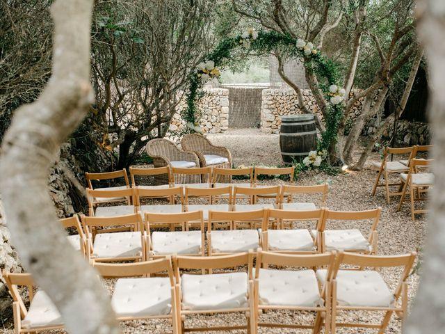 La boda de Lewis y Nikki en Sant Lluís, Islas Baleares 13