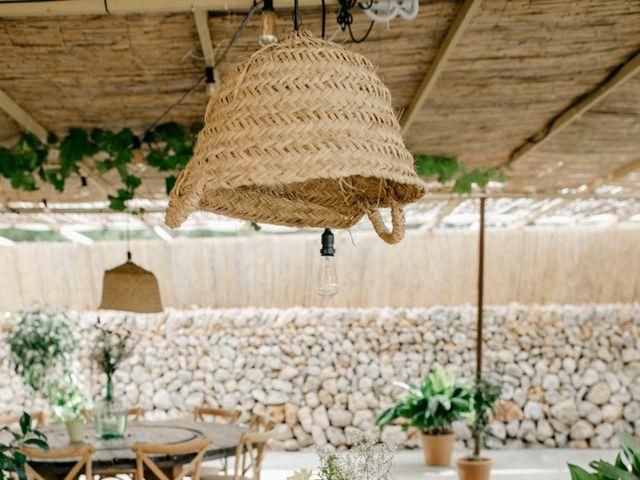 La boda de Lewis y Nikki en Sant Lluís, Islas Baleares 15