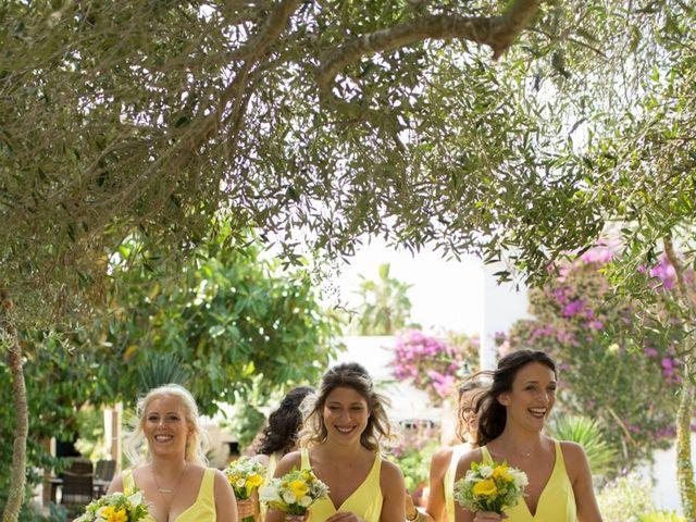 La boda de Lewis y Nikki en Sant Lluís, Islas Baleares 17