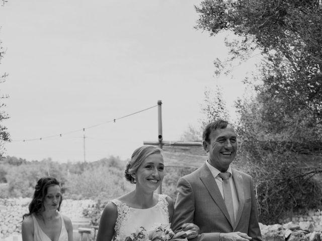 La boda de Lewis y Nikki en Sant Lluís, Islas Baleares 24