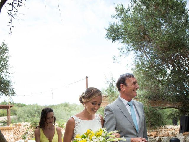 La boda de Lewis y Nikki en Sant Lluís, Islas Baleares 25
