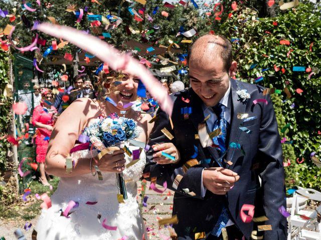 La boda de Javier y Irene en Cardeñajimeno, Burgos 17