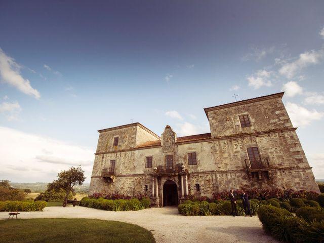 La boda de Adrián y Ying en San Tirso (Mens), A Coruña 1