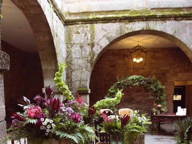 La boda de Adrián y Ying en San Tirso (Mens), A Coruña 4