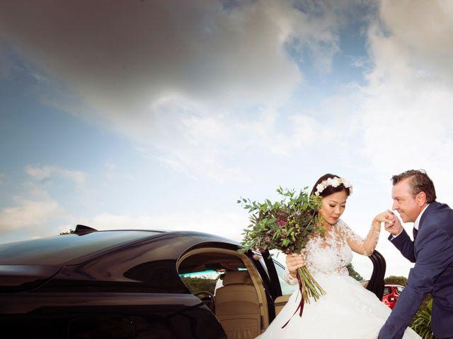 La boda de Adrián y Ying en San Tirso (Mens), A Coruña 15