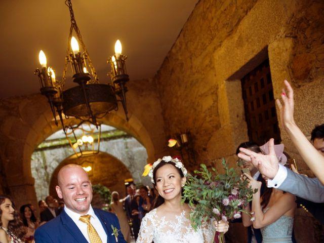 La boda de Adrián y Ying en San Tirso (Mens), A Coruña 25