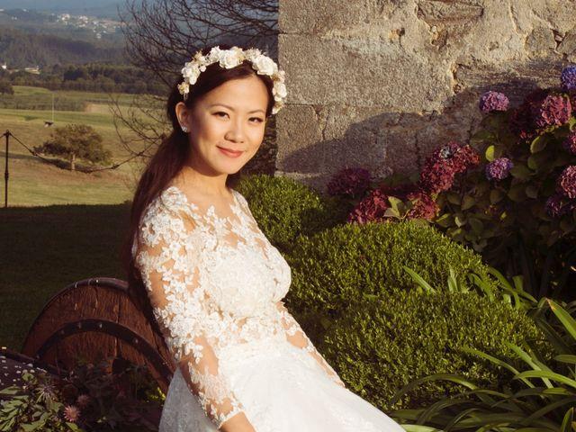 La boda de Adrián y Ying en San Tirso (Mens), A Coruña 26