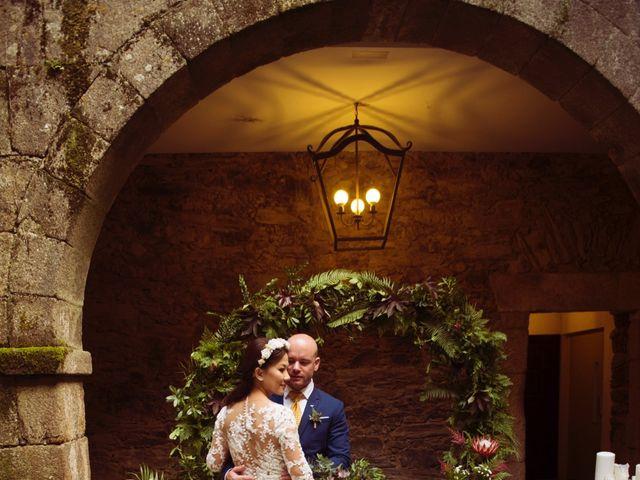 La boda de Adrián y Ying en San Tirso (Mens), A Coruña 32
