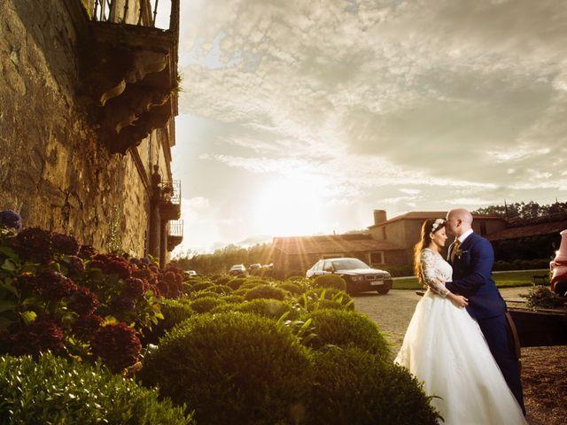 La boda de Adrián y Ying en San Tirso (Mens), A Coruña 35